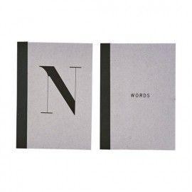 Libreta notas A5. Dos modelos