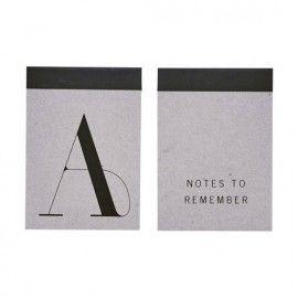 Libreta notas A6. Dos modelos