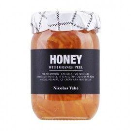 Miel con cáscara de naranja