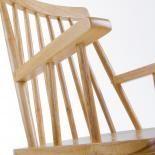 KRISTIE Silla brazos madera natural - Imagen 5