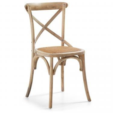 SILEA Silla madera natural - Imagen 1