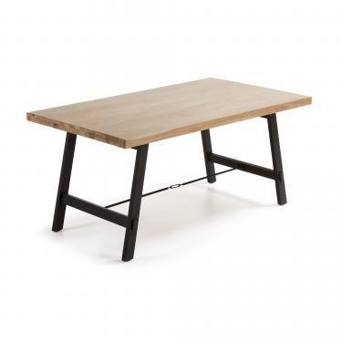 VITA Mesa 105x210 madera acacia natural - Imagen 1