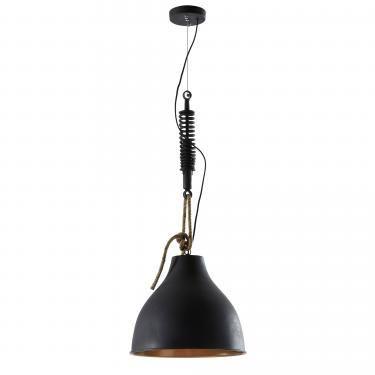 EIDAS Lámpara de techo metal negro - Imagen 1