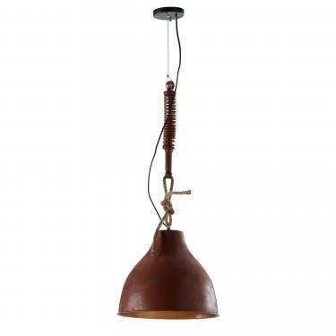 EIDAS Lámpara de techo metal envejecido natural - Imagen 1