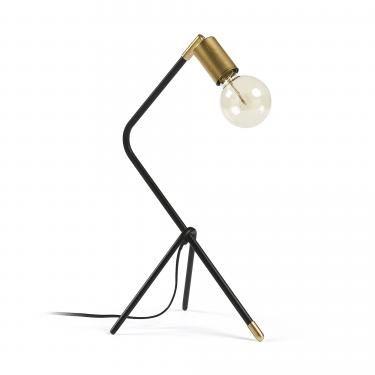 KLARA Lámpara de sobremesa metal negro - Imagen 1