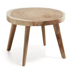 CRESWELL Mesa centro madera Suar