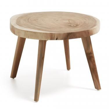 CRESWELL Mesa Auxiliar madera Suar - Imagen 1