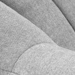 OFF Butaca madera natural tela gris claro - Imagen 5