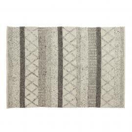 KLIN Alfombra 160x230 lana gris