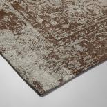 POL Alfombra algodón 160x230 marrón - Imagen 2