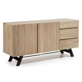 VITA Aparador 160x80 madera acacia natural
