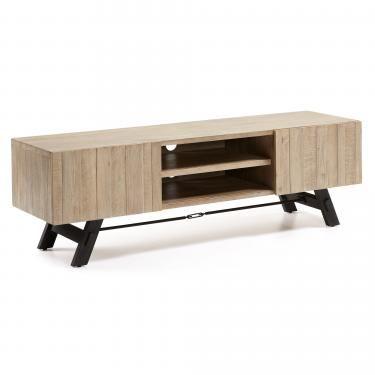 VITA Mesa Tv 160x50 madera acacia natural