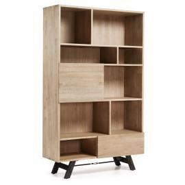 VITA Estantería 120x195 madera acacia natural