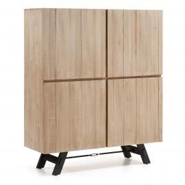 VITA Aparador 120x140 madera acacia natural