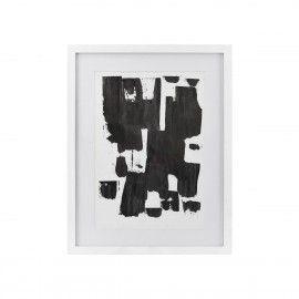 Ilustracion abstracta negra.