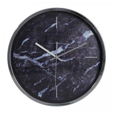 Reloj de pared Efecto mármol.