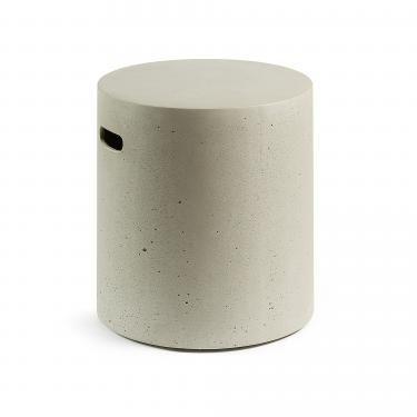 RHETTE Reposapiés cemento gris - Imagen 1