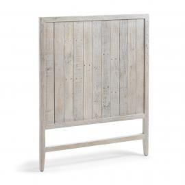 WOODY Cabecero 105x130 madera pino blanco patina