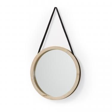 GYDA Espejo madera mango - Imagen 1