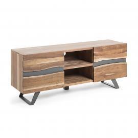 IRVIN mueble tv 160x65 madera acacia