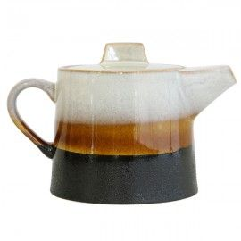 Tetera de cerámica vintage.