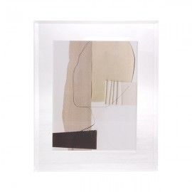 Marco con ilustración abstracta.