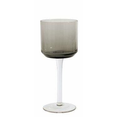 Set 2 copas de cristal retro.