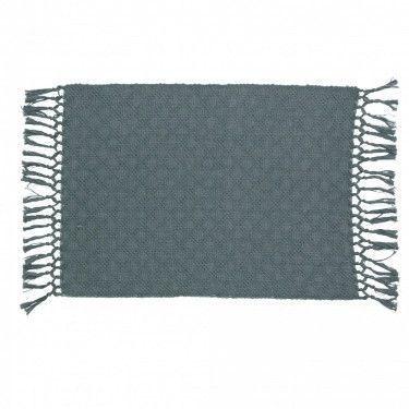 Mantel individual de algodón.