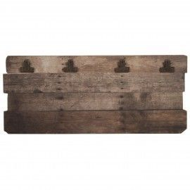Panel archivador de madera maciza.