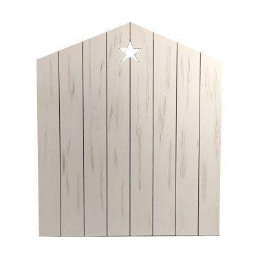 cabecero casita con estrella