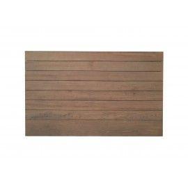 Cabecero tablas de madera natural. Varios tamaños.