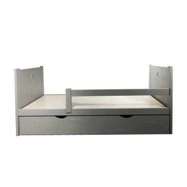 Cama nido con cajón inferior para colchón u objetos.