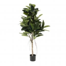FLOWER Ficus artificial en maceta