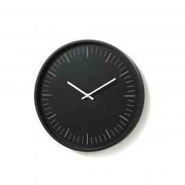 TERRE Reloj pared dm negro