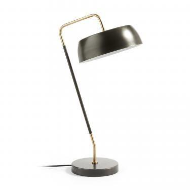 GALERIA Lámpara de sobremesa metal zinc - Imagen 1