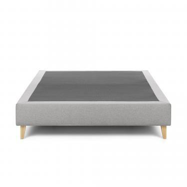 NIKOS Base alta 140x190 tela gris - Imagen 1