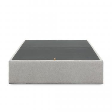 MATTERS Canapé abatible 160x200 tela gris - Imagen 1