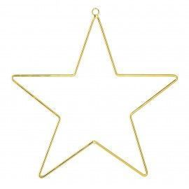 Estrella dorada.