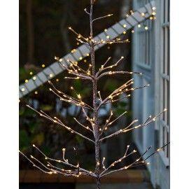 Árbol de Navidad ALEX con nieve y luces LED. 180 cm.