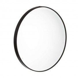 Espejo redondo marco de hierro. ø60cm.