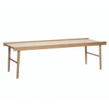 Mesa de centro madera de roble.