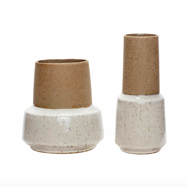 Jarrón de cerámica. Varios tamaños.