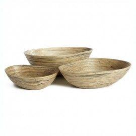 Bowl madera de bambú. Varios tamaños.