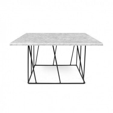 Mesa de centro en mármol blanco