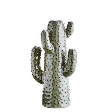 Jarrón cactus de cerámica