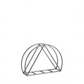 Servilletero de mesa geométrico.