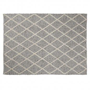 ARA Alfombra lana 160x230 gris claro - Imagen 1