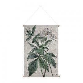 Mural botánico.