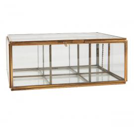 Caja de cristal.