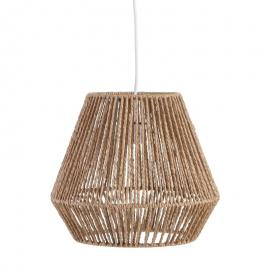 Lámpara de techo cuerda. ø 32 x 28 cm.